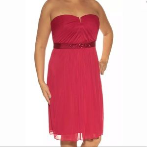 Formal Short Dress in Red Size 14 Adrianna Papell